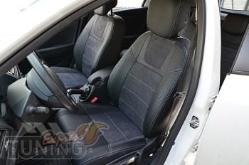 Чехлы Renault Megane 3 Grandtour серии Leather Style