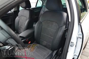 Чехлы Renault Megane 4 с 2015- года серии Leather Style