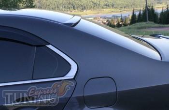 Бленда спойлер на стекло Honda Accord 8 (установка)