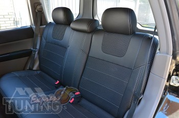 Чехлы на Subaru Forester 2 оригинальный комплект серии Dynamic