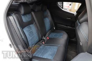 Чехлы салона Toyota C-HR с 2016- года серии Leather Style