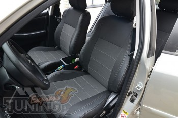 Авточехлы салона Тойота Королла 9 Е120 серии Premium Style