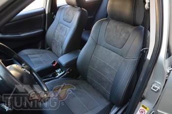 Чехлы на Toyota Corolla E120 серии Leather Style