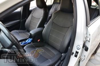 Чехлы Toyota Corolla 12 E210 оригинальный комплект серии Dynamic