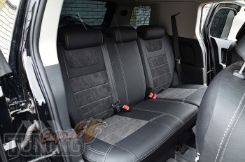 Чехлы на Toyota FJ Cruiser с 2016- года серии Leather Style