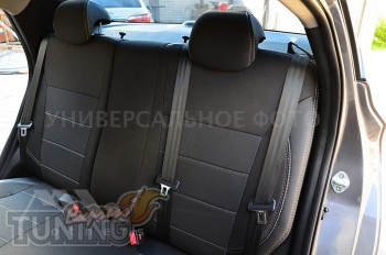 Авточехлы в салон Тойота Проэйс Версо серии Premium Style