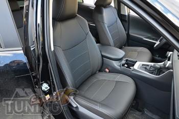 Чехлы на Toyota Rav 4 5 оригинальный комплект серии Dynamic