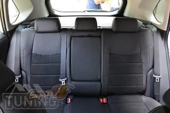 Чехлы на Toyota Rav4 5 с 2018- года серии Leather Style