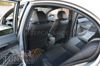 Чехлы в авто Volkswagen Golf 4 оригинальный комплект серии Dynam