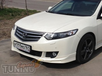 Комплект передних ресничек на фары Honda Accord Cl-8