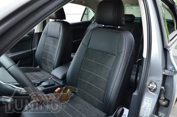 Чехлы для Volkswagen Passat B8 с 2015- года серии Leather Style