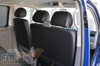 Авточехлы на Фольксваген Транспортер Т6 грузовой серии Premium S