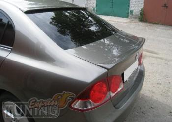 Фирменный спойлер на багажник Honda Civic 4d седан