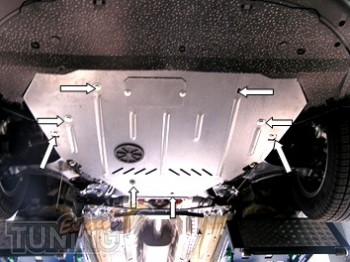 Защита на двигатель Ford S-Max (защита картера Форд S-Мах)