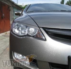 Купить реснички на фары Honda Civic 4d (Цивик 4д)
