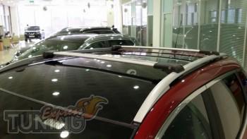 Рейлинги на Volkswagen Touran 2 фото