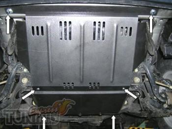 Защита поддона Hyundai H1 (защита движка Хюндай Н1)