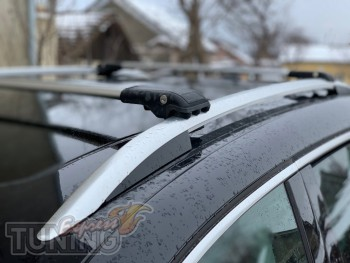 Рейлинги на крышу Skoda Karoq фото