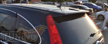 Накладка спойлер на заднюю дверь Honda Crv (магазин ExpressTunin