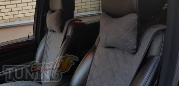 Подушка в авто из алькантары