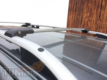 Перемычки на рейлинги Lexus GX470 фото
