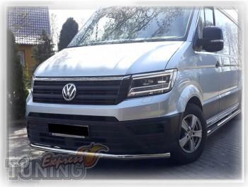 Защитная дуга бампера Volkswagen Crafter 2 фото