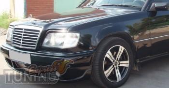 Тюнинг реснички на фары Mercedes E-Class W124 кузов
