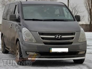 Защитная дуга переднего бампера Hyundai H1 фото