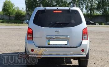 Купить защитную дугу бампера Nissan Pathfinder R51 фото