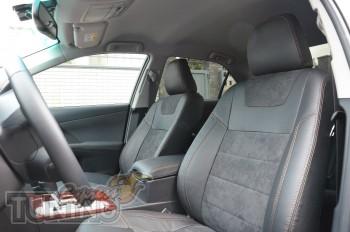 Автомобильные чехлы Тойота Камри 50 (чехлы Toyota Camry V50)