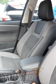 Автомобильные чехлы в машину Тойота Королла Е170 (чехлы Toyota C