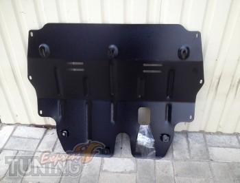 Защита двигателя на Skoda Fabia 2 (защита картера Шкода Фабия 2)
