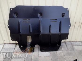 Защита двигателя Шкода Фабия 2 (защита картера Skoda Fabia 2 )