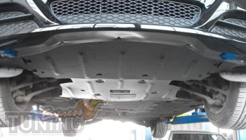 Защита мотора BMW 3 E90 (защита двигателя БМВ 3 Е90)