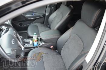 Автомобильные чехлы Хендай Санта Фе 3 (Чехлы Hyundai Santa FE 3)