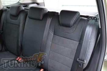 Автомобильные чехлы для Форд Куга 2 (Чехлы в авто Ford Kuga 2 ку