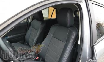 Автомобильные чехлы Мазда СХ-5 (купить чехлы в салон Mazda CX-5)