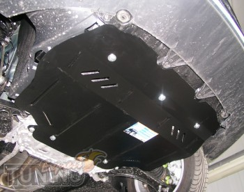 Защита поддона Skoda Superb (защита мотора Шкода Суперб)