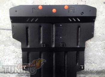 защита мотора Skoda Superb 1