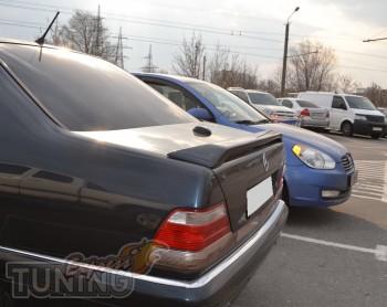 Оригинальный задний спойлер на Mercedes W140 (купить, Киев)