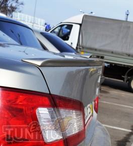 Лип спойлер на кромку крышки багажника Митсубиси Галант 9 седан