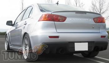 Спойлер-сабля для Mitsubishi Lancer X (10 поколения)