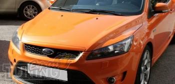 Реснички на передние фары Форд Фокус 2 с 2008-