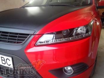 Тюнинг реснички на фары Ford Focus 2 купить в ExpressTuning