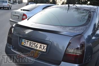 Купить спойлер на крышку багажника Ниссан Примера P12 седан (Exp