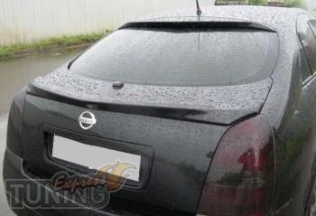 Оригинальный спойлер для автомобиля Nissan Primera P12 седан (фо