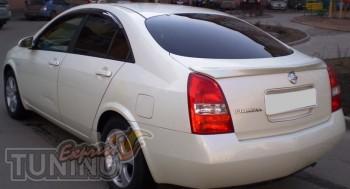 Аэродинамический спойлер на багажник Nissan Primera P12 седан (к
