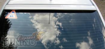Бленда-спойлер для Nissan Tiida седан (задний козырек Тиида седа