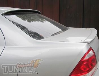 Задний аэродинамический козырек на стекло Nissan Almera Classic