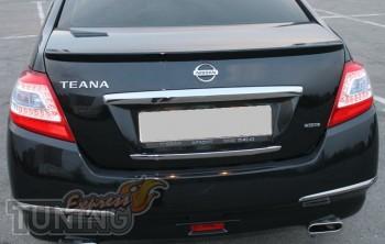 Оригинальный лип спойлер для Nissan Teana J32 (фото ExpressTunin